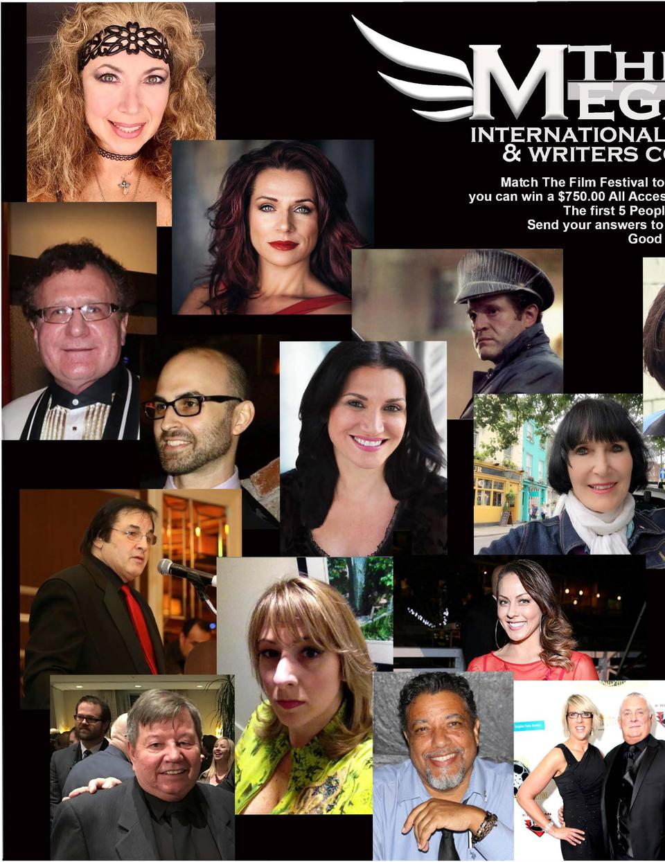 THEAOF  EGAFES  INTERNATIONAL FILM FESTIVALS   WRITERS COMPETITIONS  Match The Film Festival to The Festival Director and ...