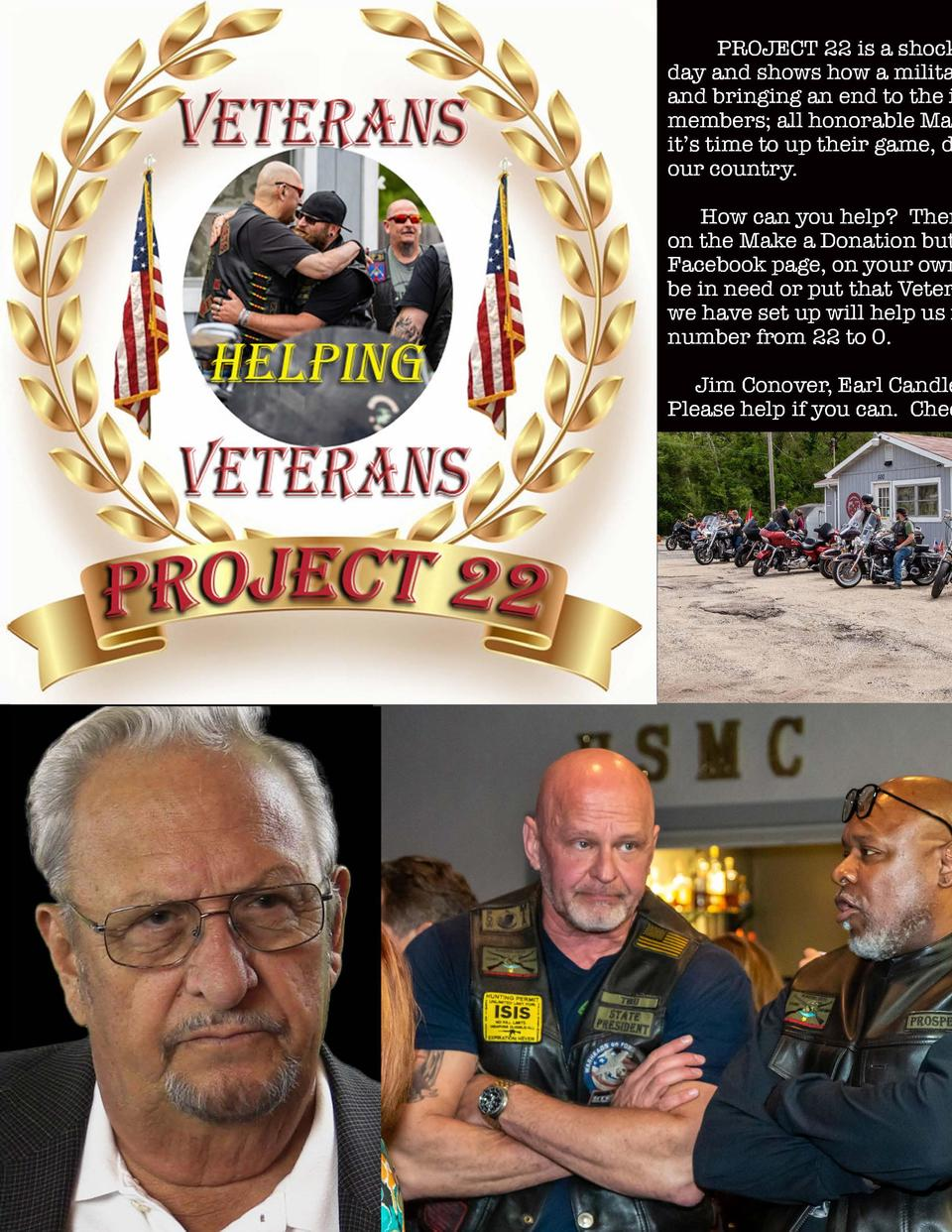 PROJECT 22 is a shocking documentary that reveals that 22 of our Military Veterans commit suicide every day and shows how ...
