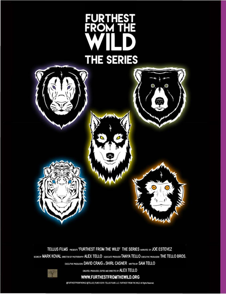 FURTHEST FROM THE  WILD  ...  .    ,f                I        TELLUS FILMS  ,cx ,i,.  11tst,,  FURTliEST  FR011 THE WILD. ...