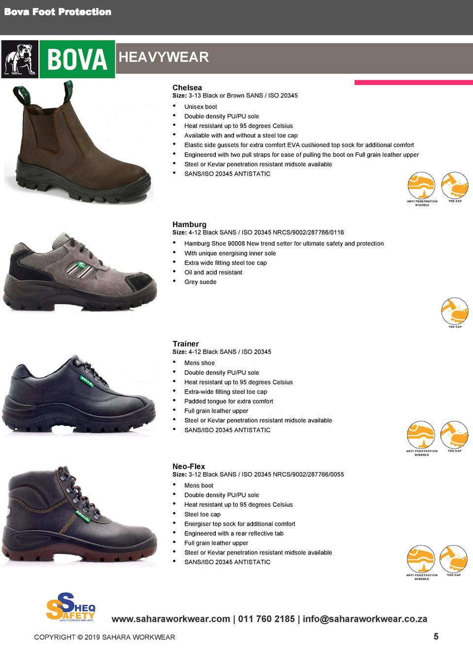 Sheq Safety Footwear :