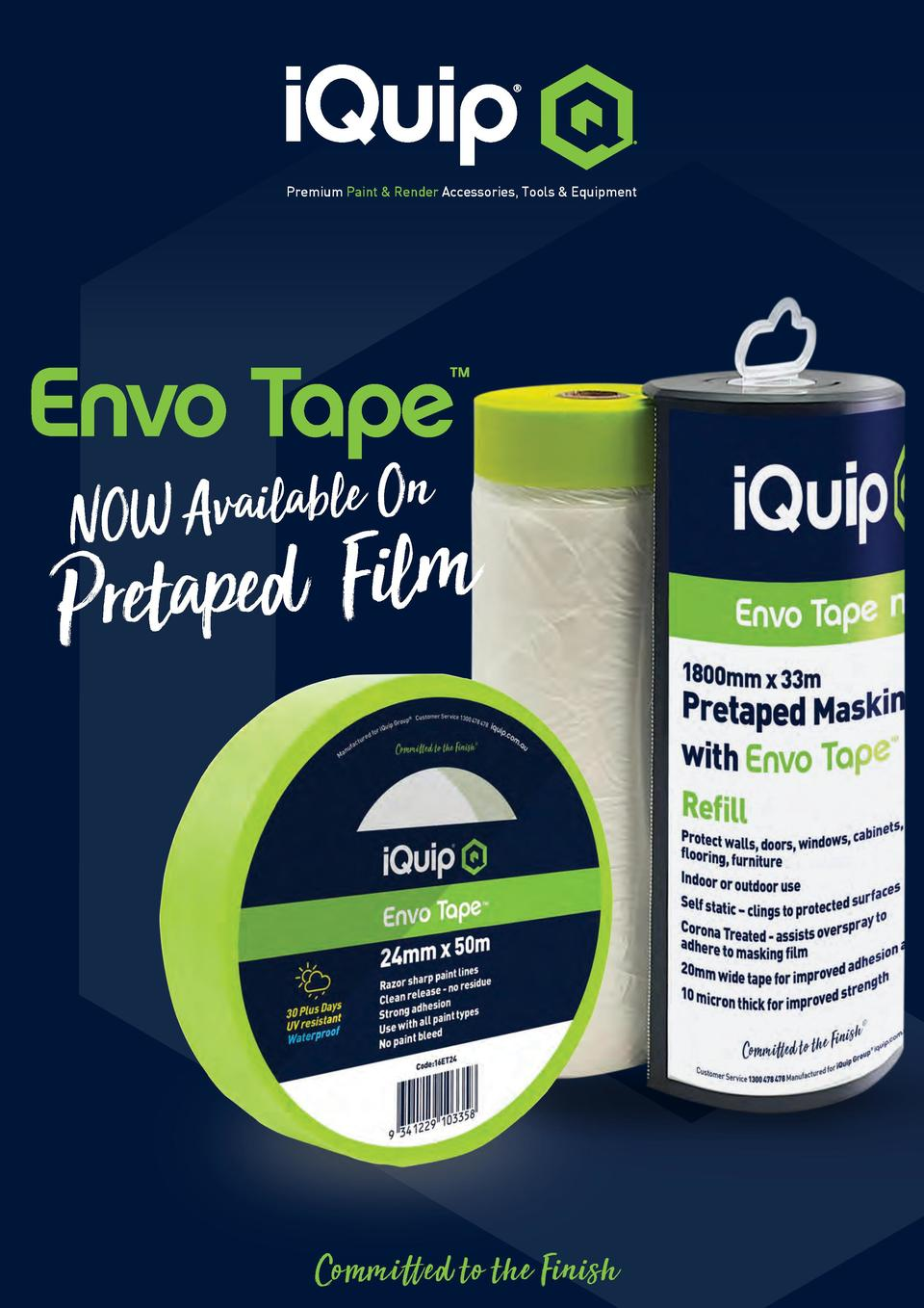 Premium Paint   Render Accessories, Tools   Equipment  Envo Tape       n O e l b a l i a v A NOW  m l i F d e p a Pret  Co...