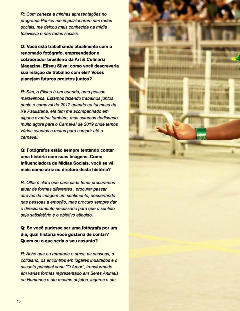 Sei Di Ponte Nossa Se art & culinaria edition 2 : simplebooklet
