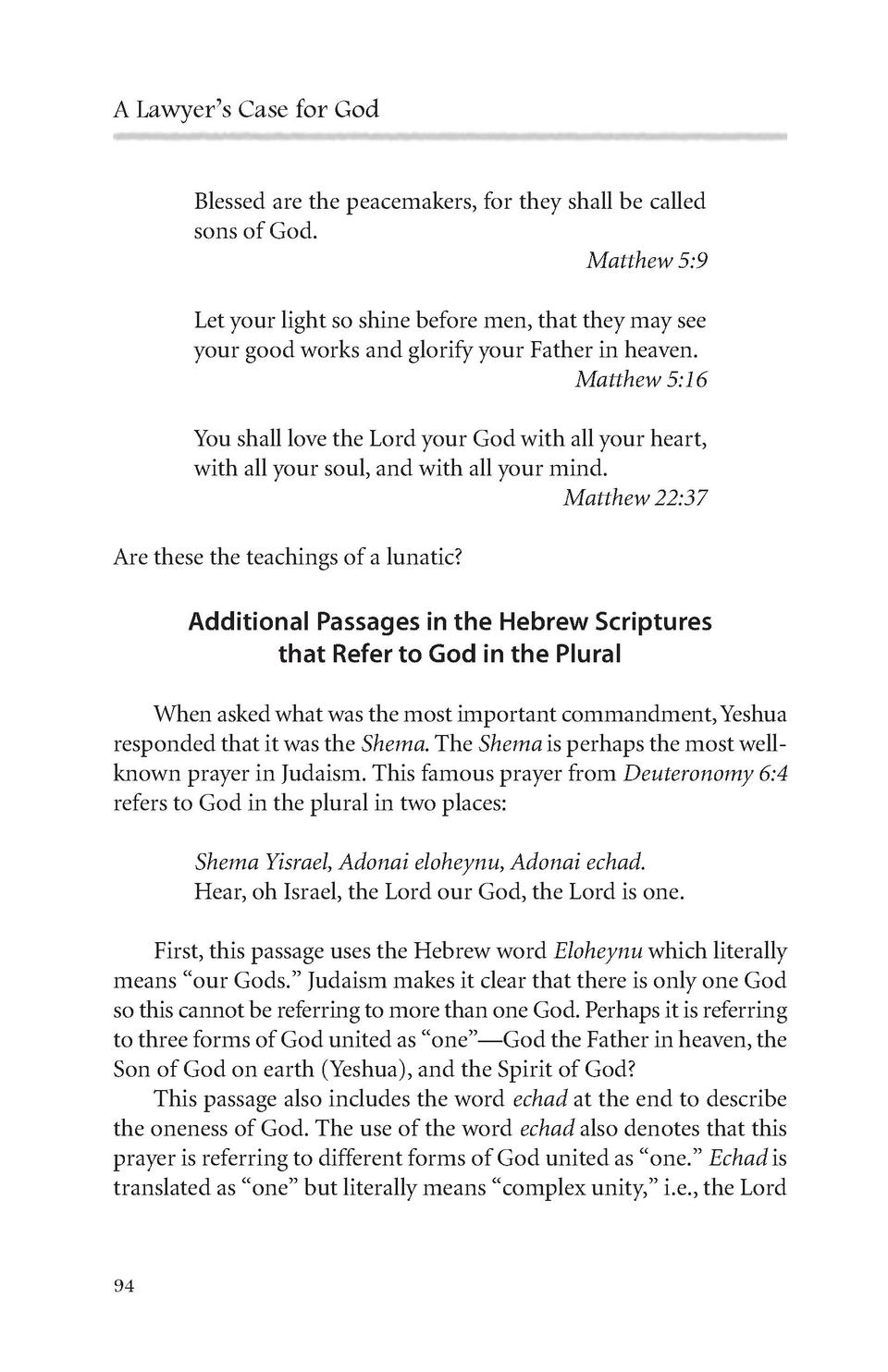 A Lawyers Case for God : simplebooklet com