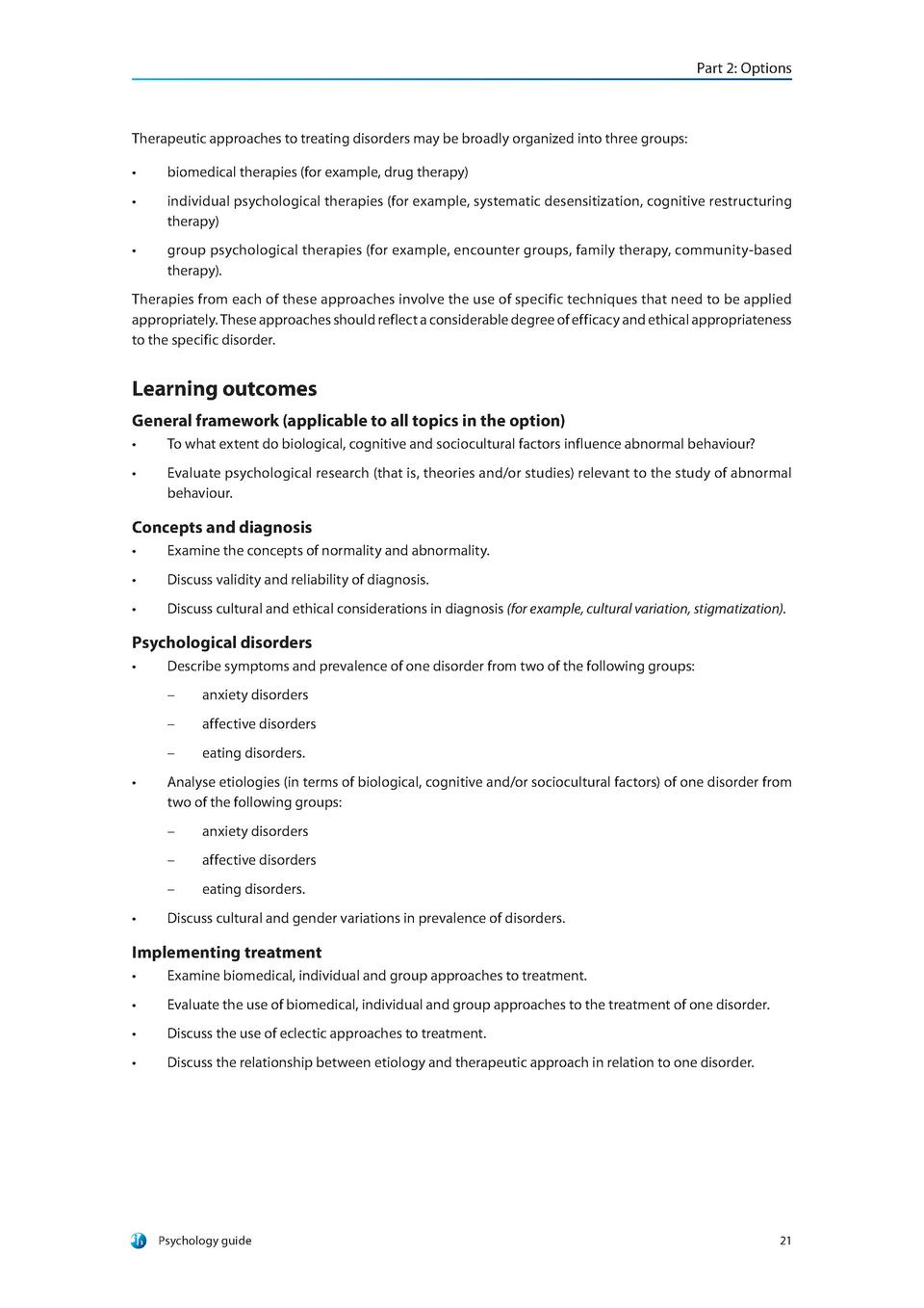 psychological disorders and treatment essay 100% free ap test prep website that offers study material to high school students seeking to prepare for ap exams enterprising students use this website to learn ap class material, study for class quizzes and tests, and to brush up on course material before the big exam day.