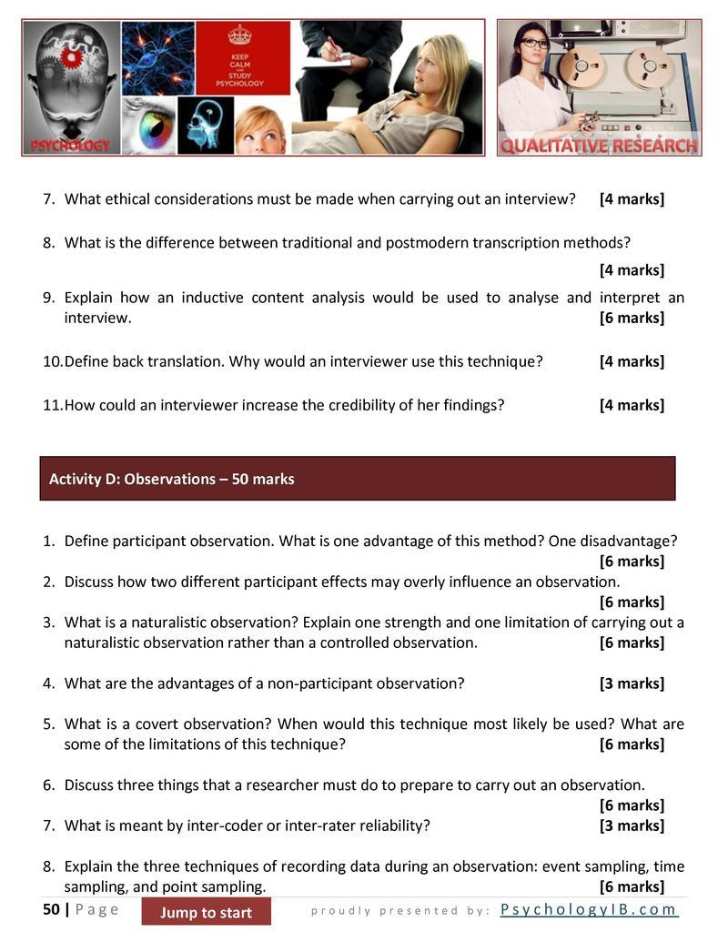 define participant observation