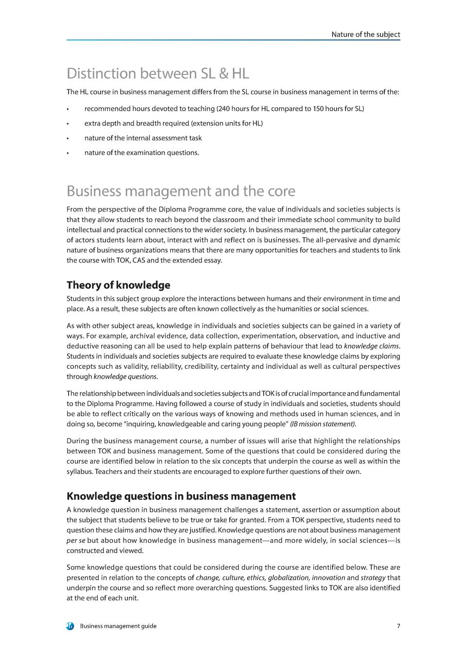 IB Business and Management Guide : simplebooklet com