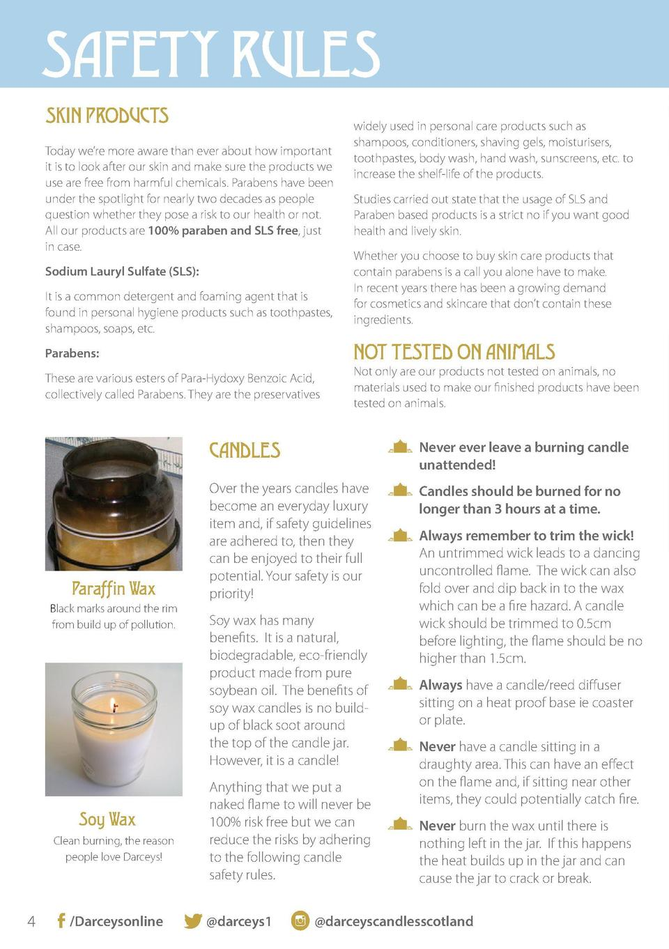 SAFETY RULES SKIN PRODUCTS Today we   re more aware than ever about how important it is to look after our skin and make su...