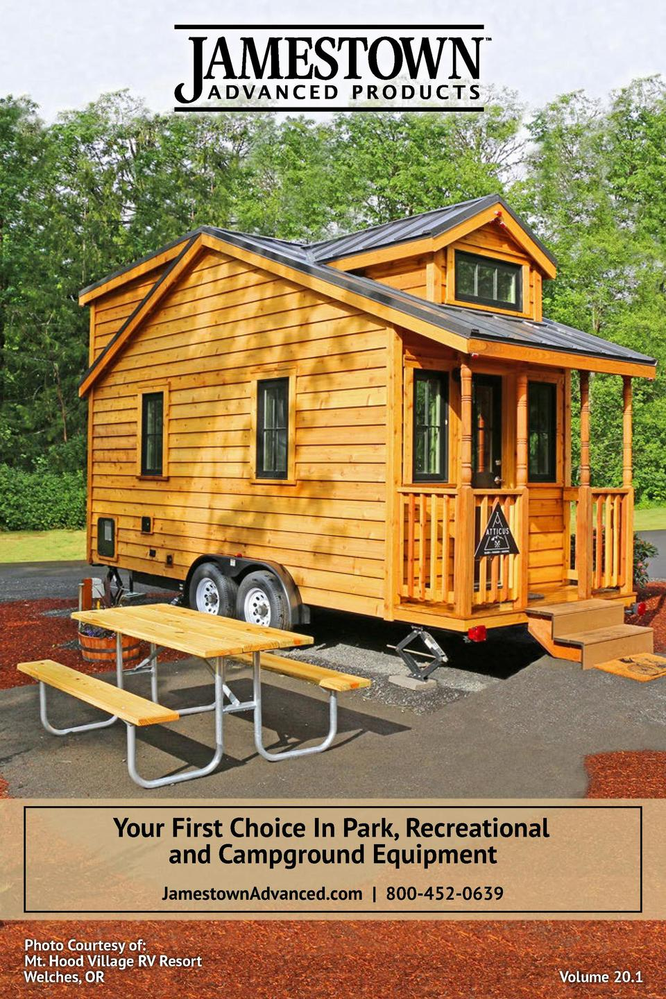 Your First Choice In Park, Recreational and Campground Equipment JamestownAdvanced.com   800-452-0639 Photo Courtesy of  M...