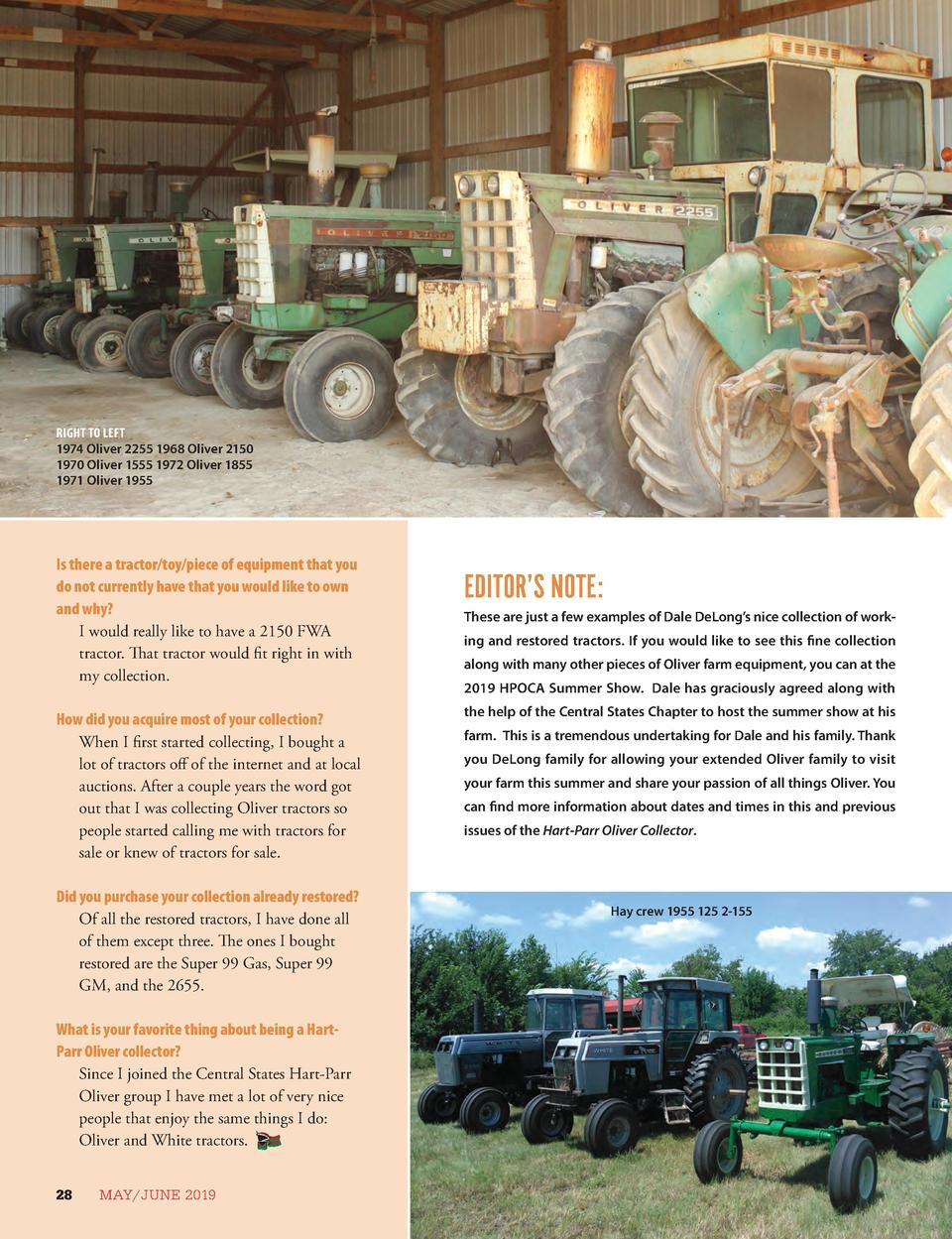 Agco Oliver farm /& historic book tractor and equip ads Tim putt NEW 2015 nice