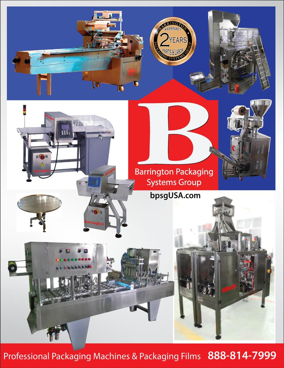 bpsgUSA.com  Professional Packaging Machines   Packaging Films  888-814-7999