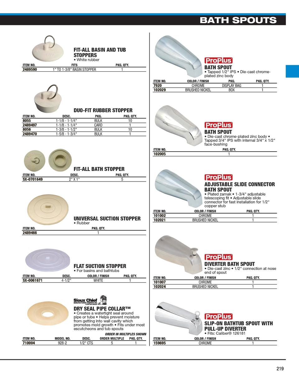 Slip Fit Tub Spout Adapter Manual Guide