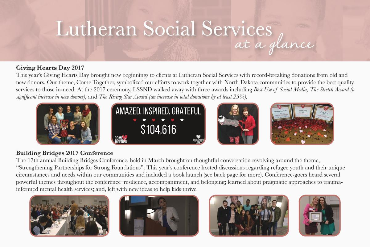 Giving Hearts Day 2017 This year   s Giving Hearts Day brought new beginnings to clients at Lutheran Social Services with ...