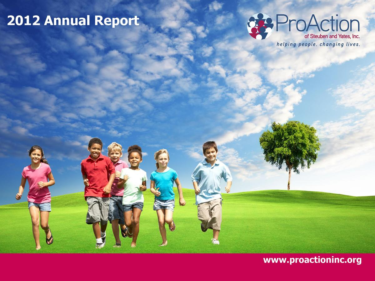 2012 Annual Report  www.proactioninc.org