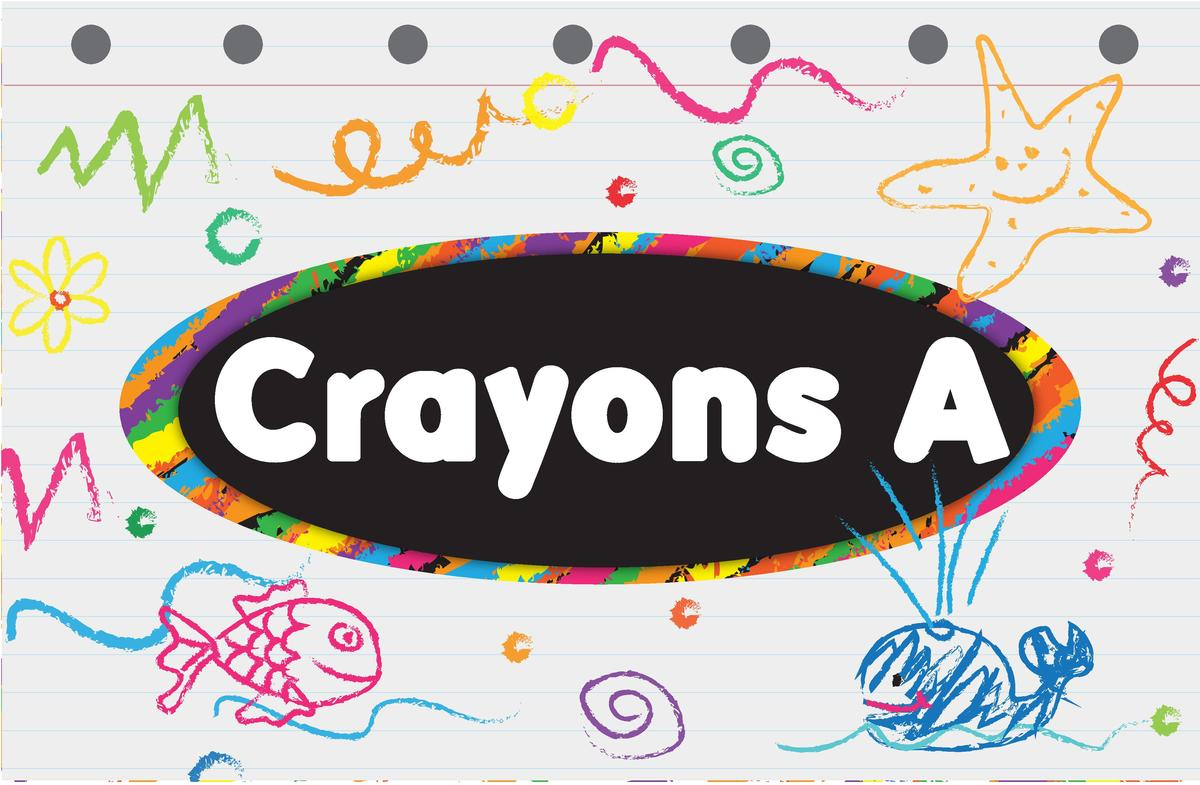 Crayons A