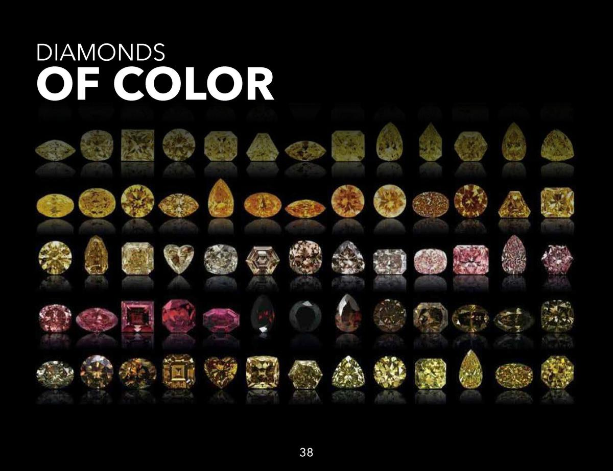 DIAMONDS  OF COLOR  38