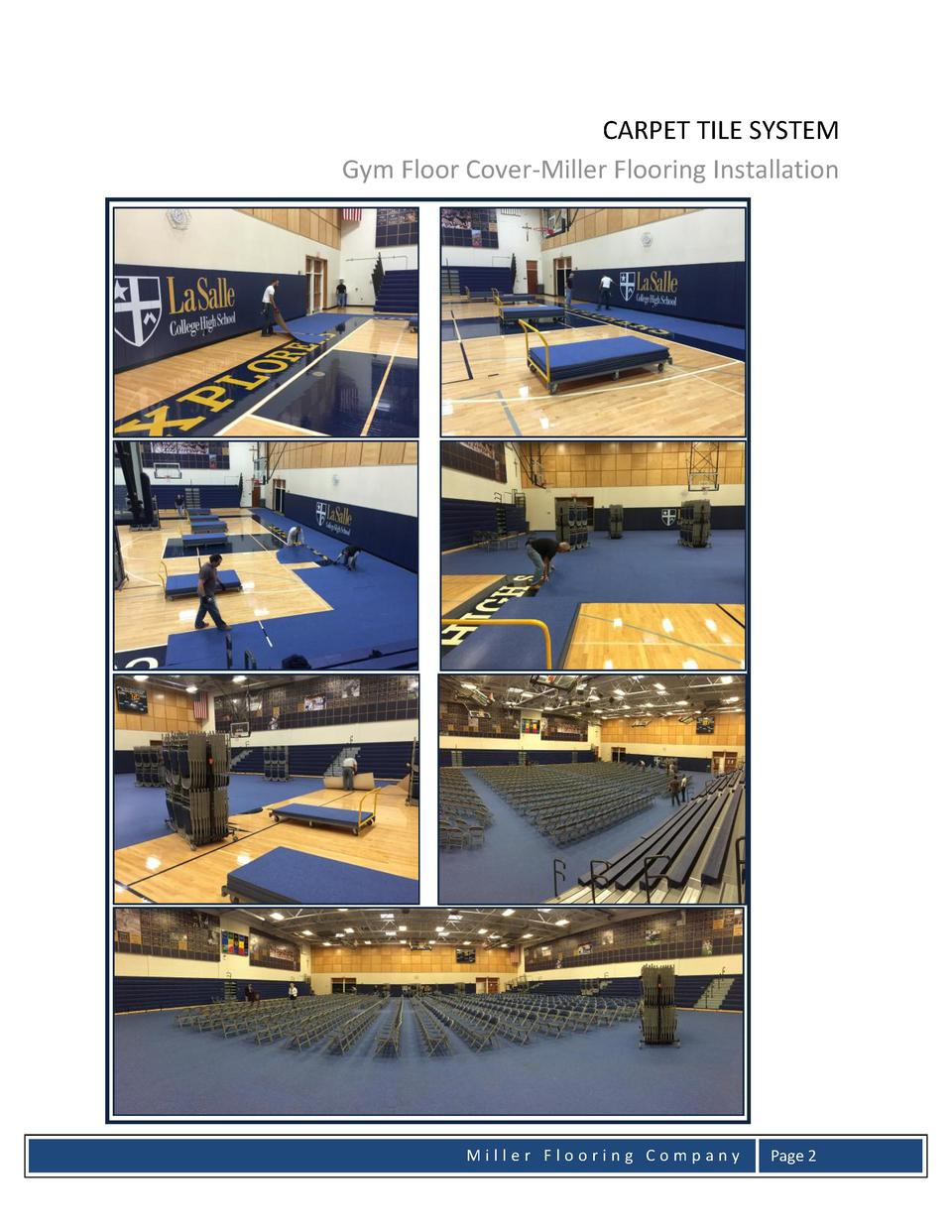Proposal Notre Dame Gym Floor C Simplebooklet Com