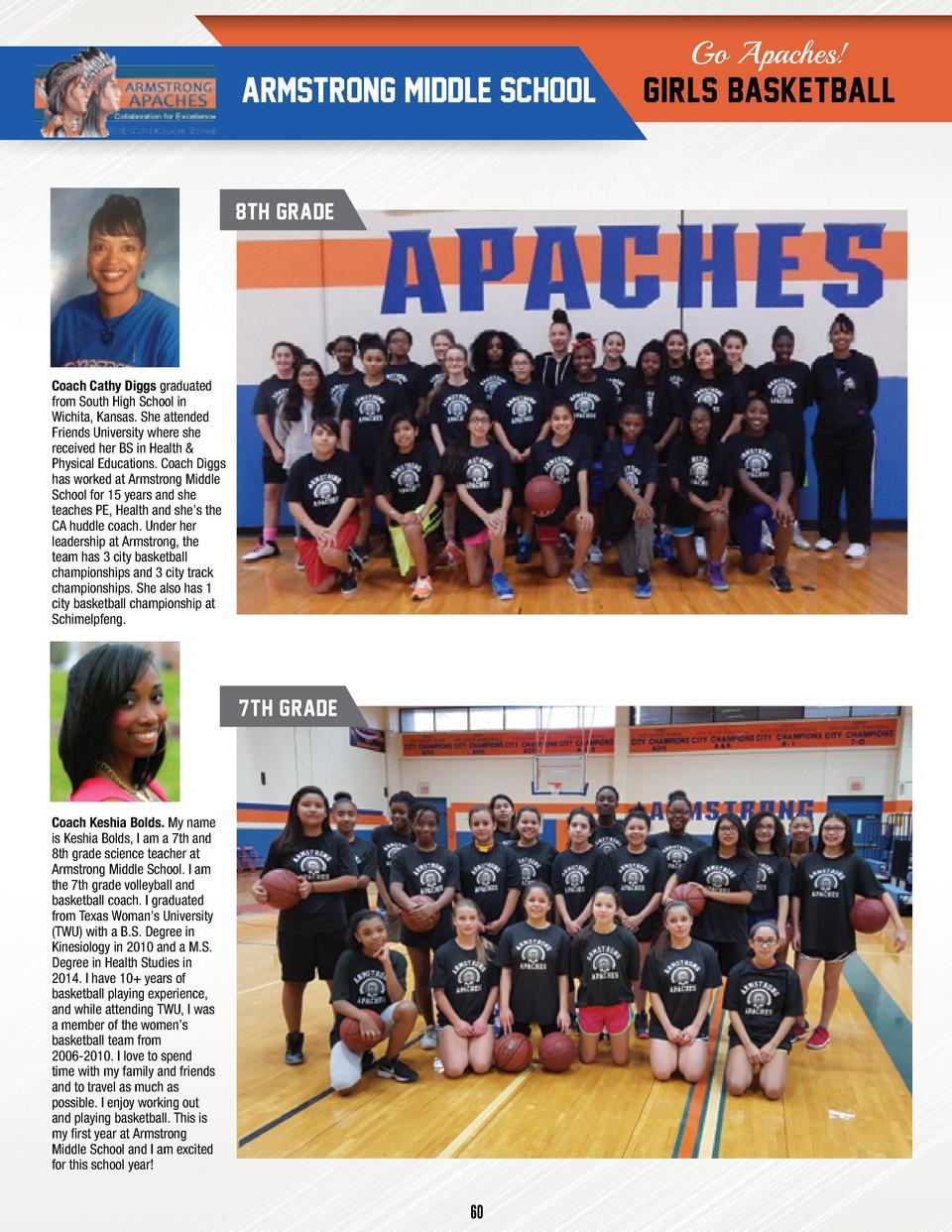 6th grade english coach mcdonald