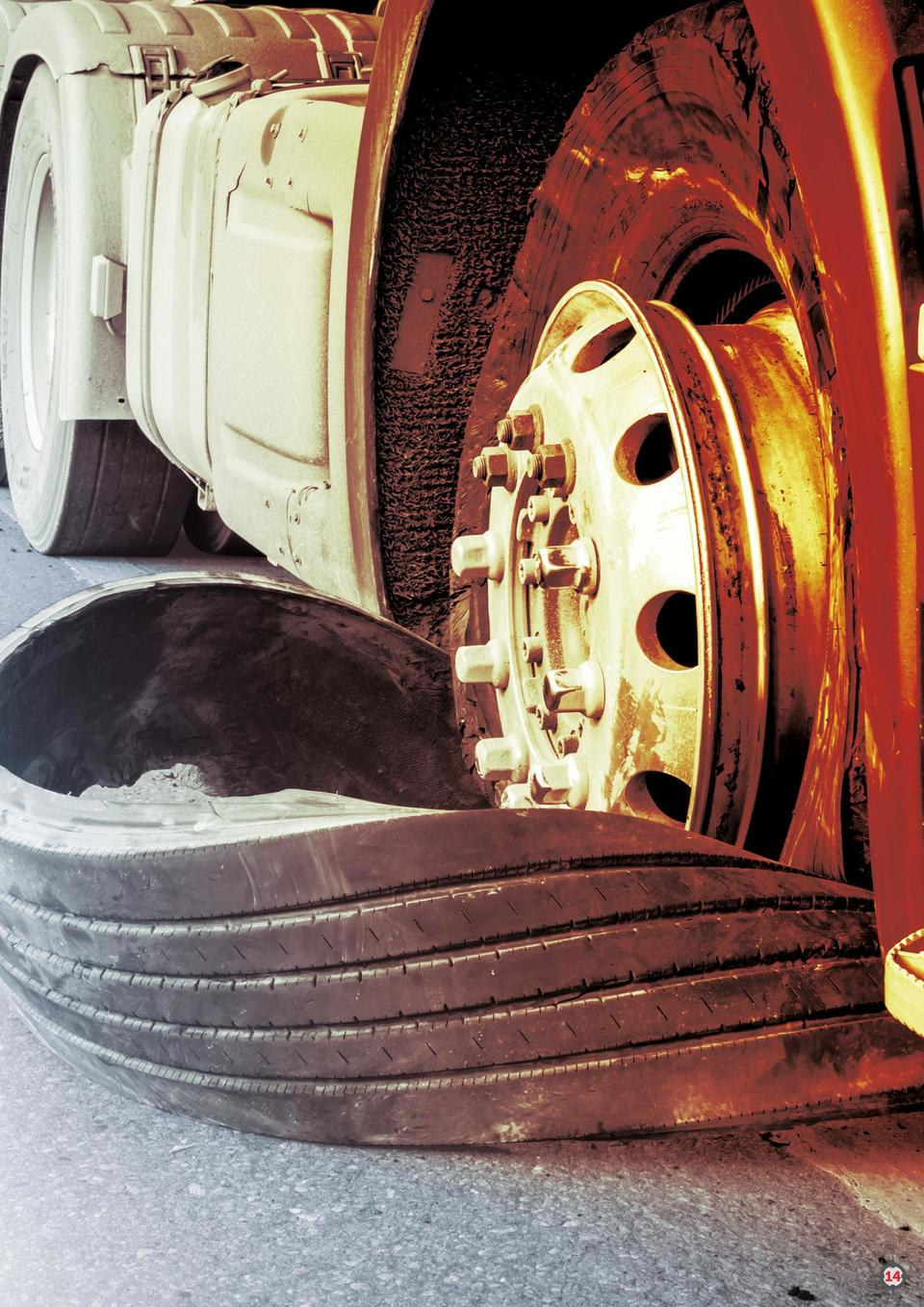 Q1    16  Feeling the Pressure  Checking your tires is critical. Over-the-road truck drivers pass through many different a...