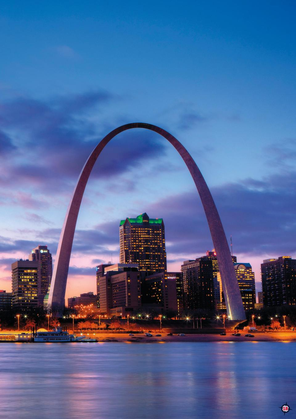 Q2    17  Did You Know  The Gateway Arch in St. Louis, Missouri was created as a memorial to celebrate the accomplishments...
