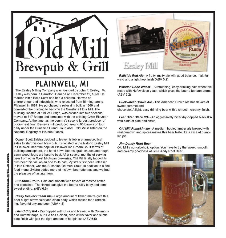 Railside Red Ale - A fruity, malty ale with good balance, malt forward and a light hop finish  ABV 5.2   SmashmagS.com  Th...