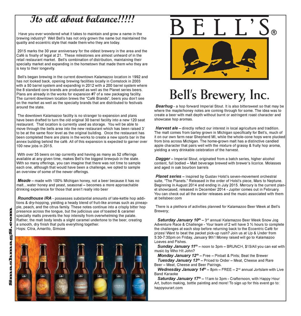 Its all about balance      Have you ever wondered what it takes to maintain and grow a name in the brewing industry  Well ...