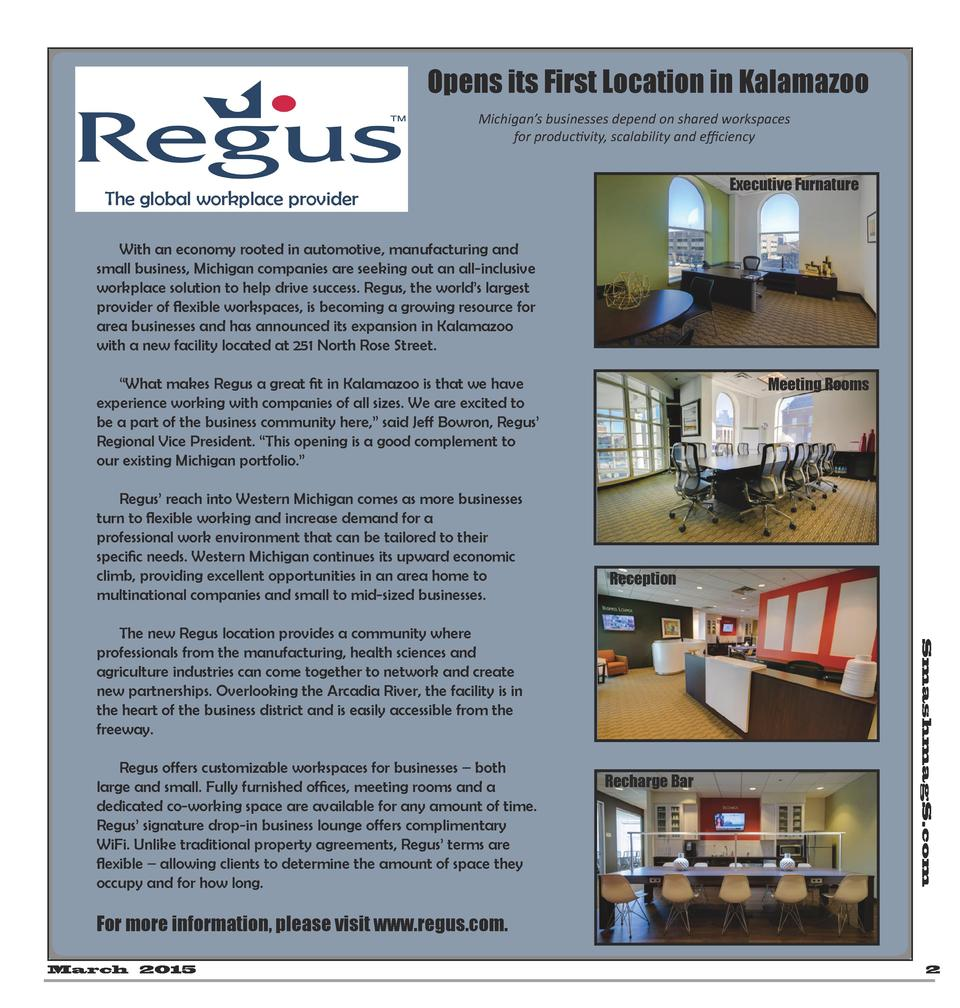 Opens its First Location in Kalamazoo Michigan   s businesses depend on shared workspaces for productivity, scalability an...