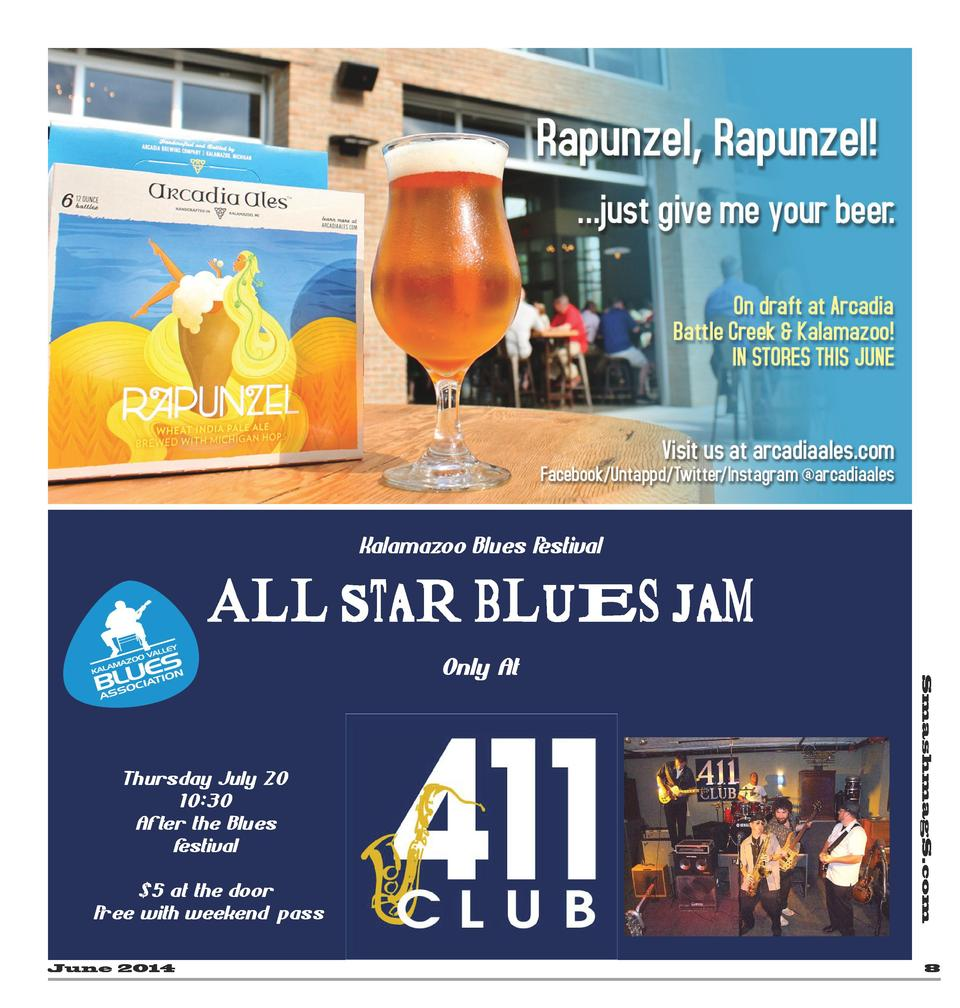 Kalamazoo Blues F estival  All Star Blues Jam  Thursday July 20 10 30 After the Blues f estival  5 at the door F ree with ...