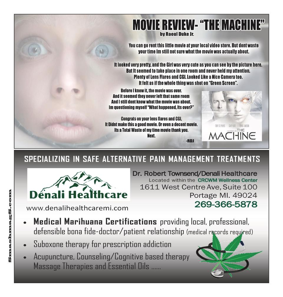 MOVIE REVIEW-    THE MACHINE    by Raoul Duke Jr.  You can go rent this little movie at your local video store. But dont w...