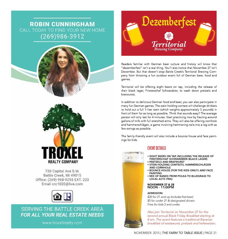 Dezemberfest Readers familiar with German beer culture and history will know that    dezemberfest    isn   t a real thing....