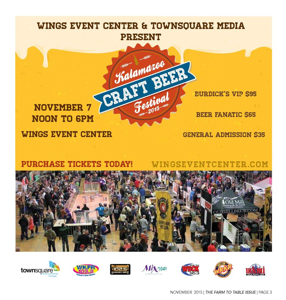 Wings Event Center   Townsquare Media Present  Burdick   s VIP  95  November 7 Noon to 6pm Wings Event Center Purchase TIC...