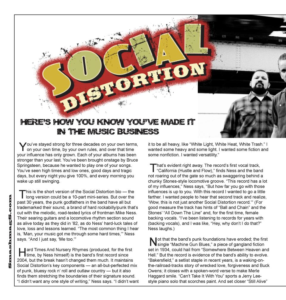 Here   s how you know you   ve made it in the music business  Y  SmashmagS.com  ou   ve stayed strong for three decades on...