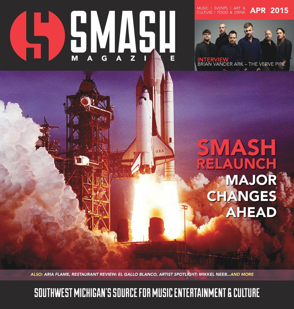 MUSIC   EVENTS   ART   CULTURE   FOOD   DRINK  APR 2015  INTERVIEW  BRIAN VANDER ARK     THE VERVE PIPE  SMASH  RELAUNCH M...