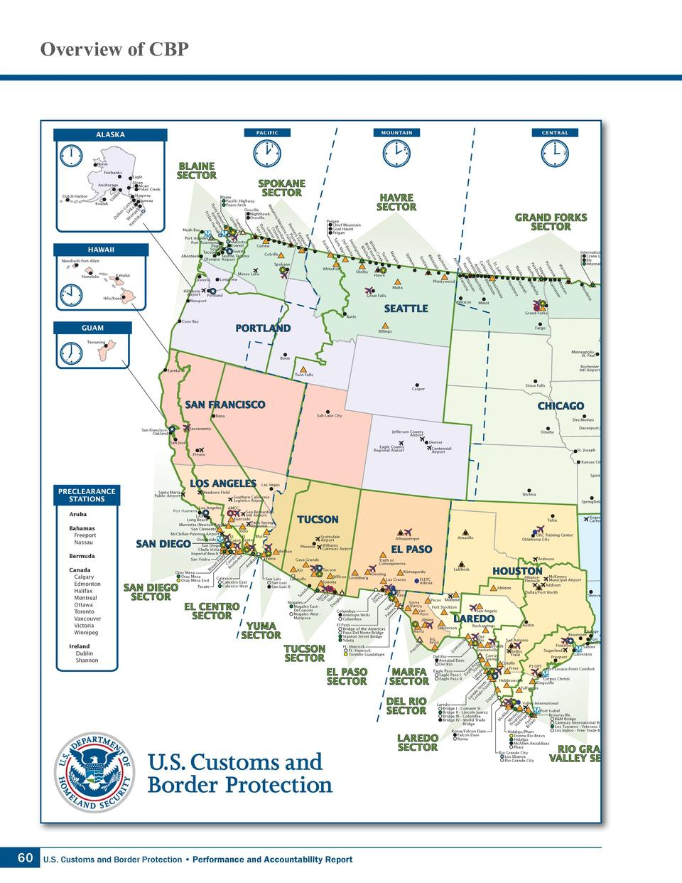 Overview of CBP  60  U.S. Customs and Border Protection     Performance and Accountability Report