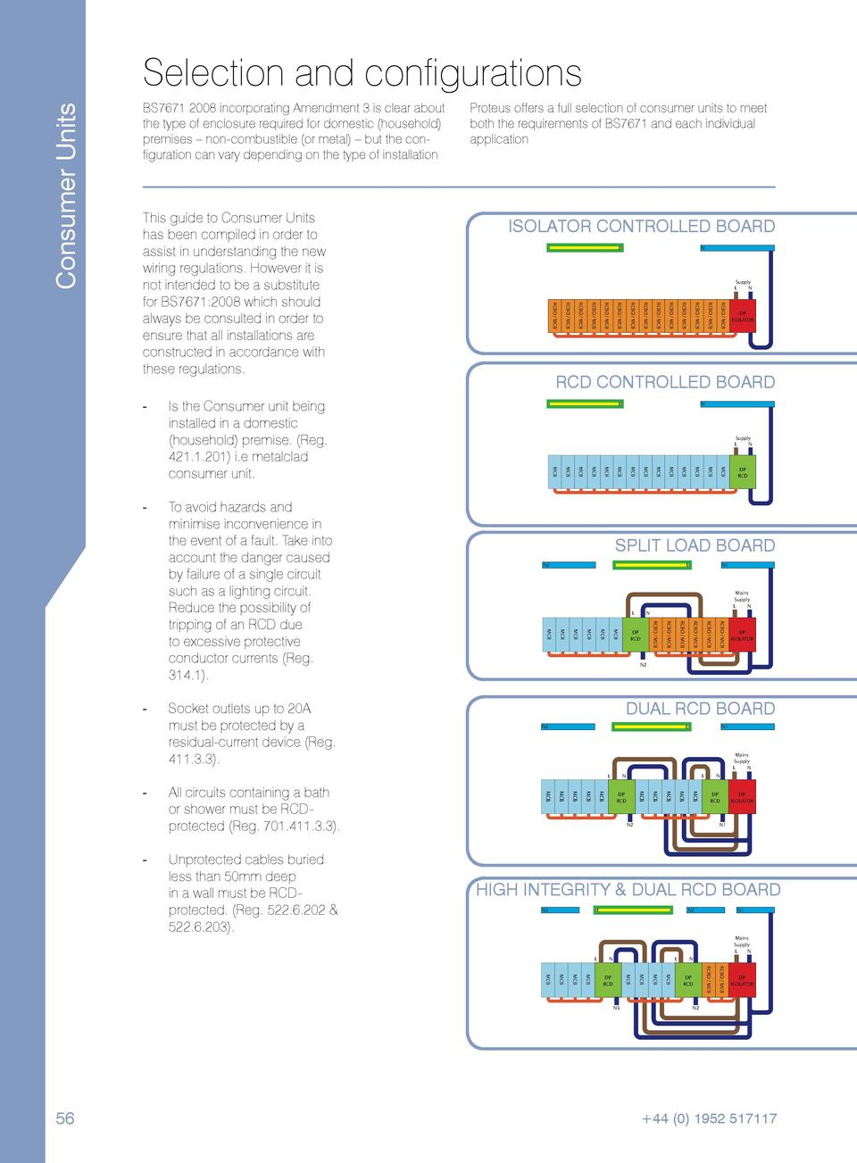 Dual Rcd Consumer Unit Wiring Diagram Page 2 And Mcb Perfect Pictures Best Images