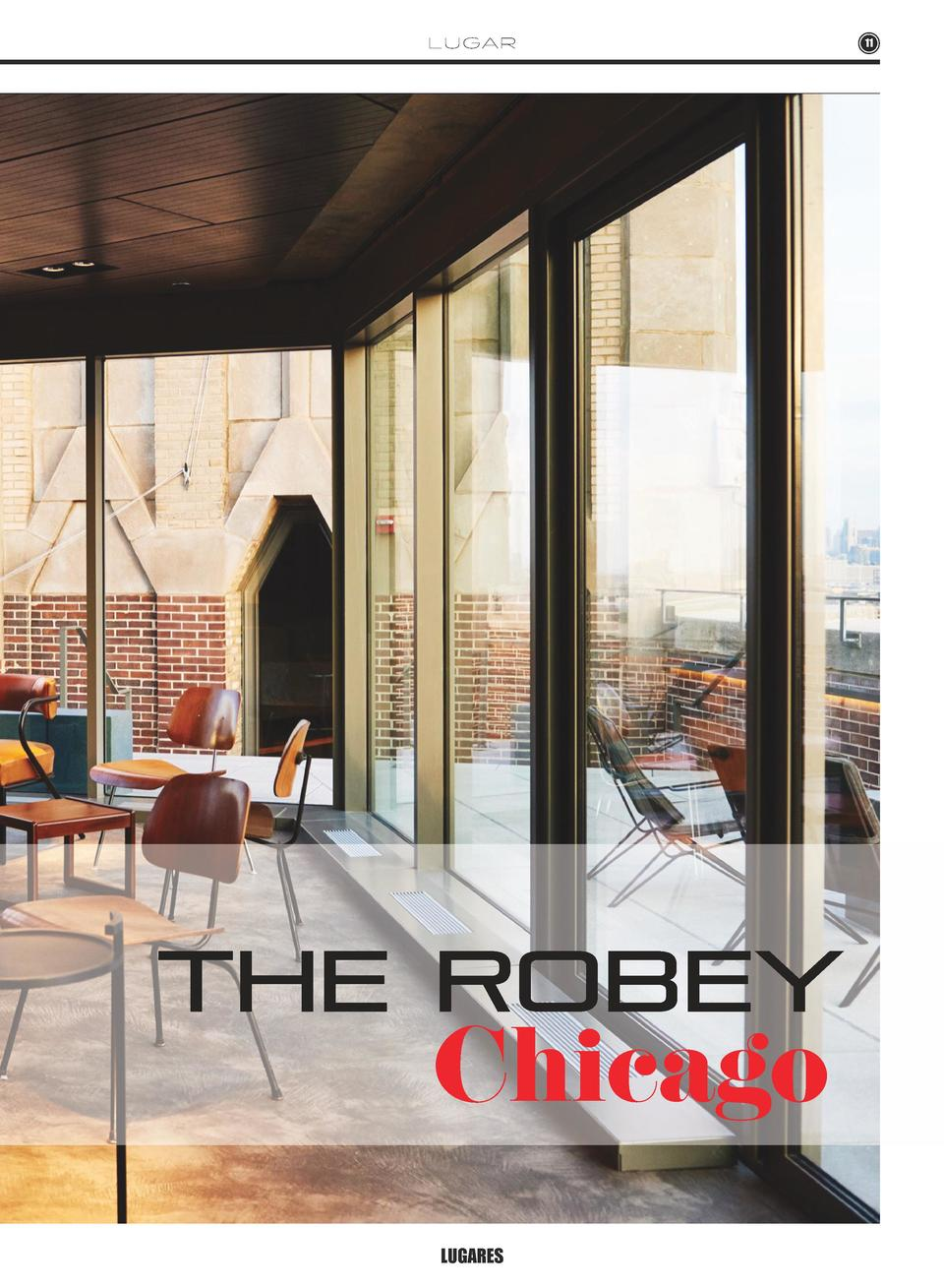 L U GA R  the robey  Chicago LUGARES  11