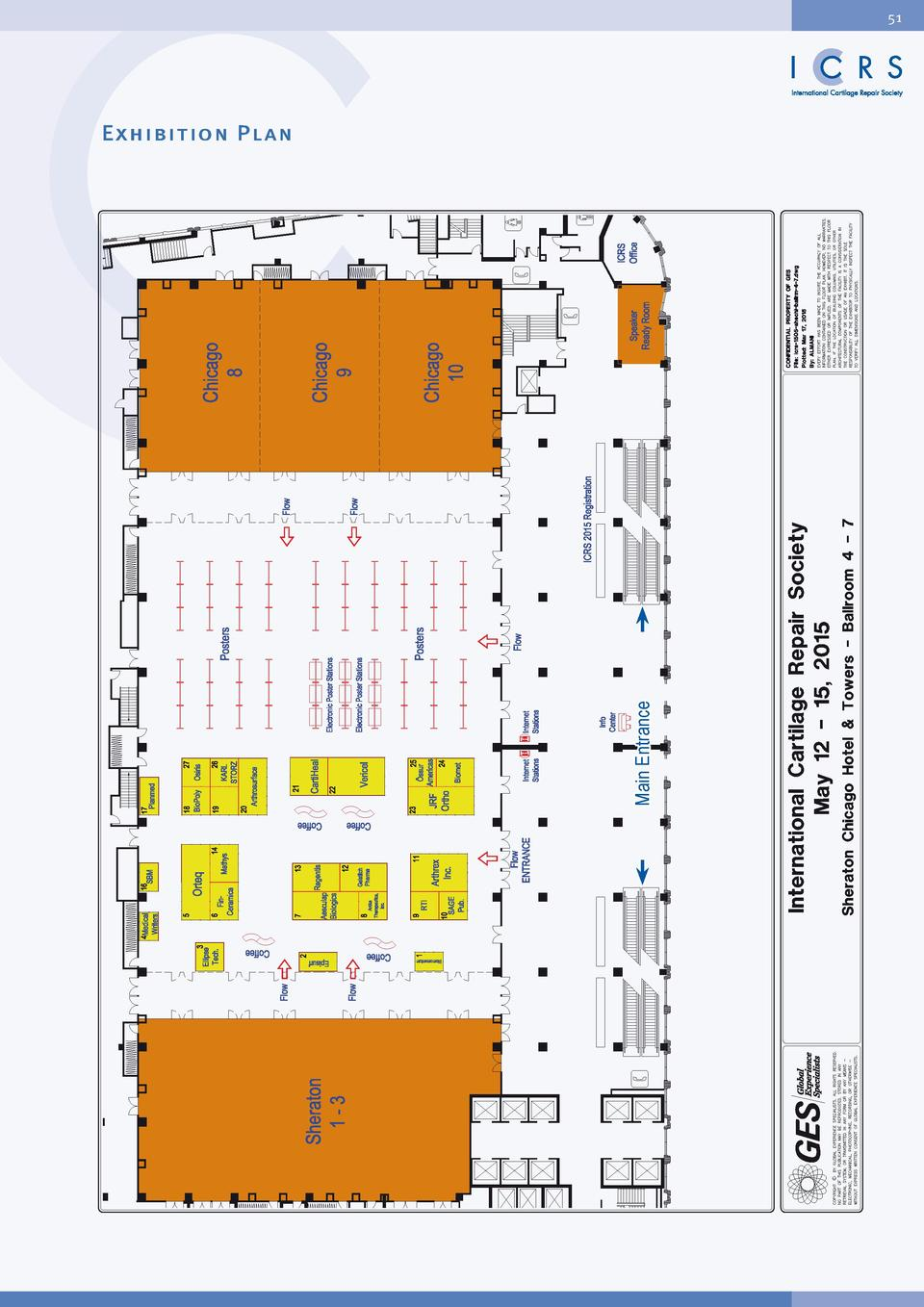 Final Programme Icrs15 World C Traveltime Sl 10 03 Laptop Case Orange 51 Main Entrance Exhibition Plan