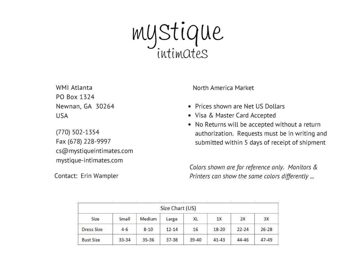 Mystique INTIMATES  EMBRACE  Comfort   Style October 2017