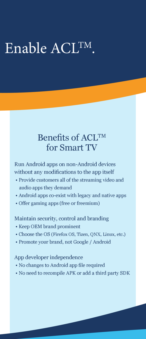 ACL for Smart TV : simplebooklet com