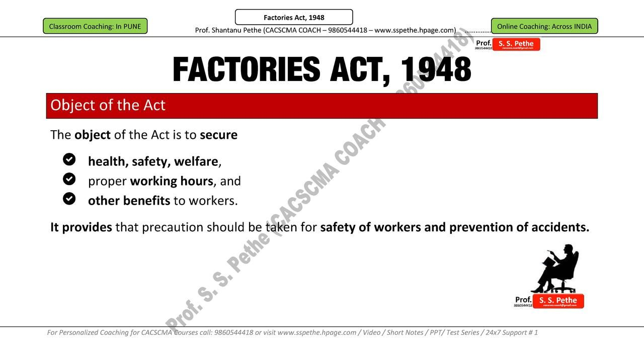 the factories act The factories act 1904 regulated employment it defined a 'boy' as being 'every  male under the age of fourteen years' the act did not cover.